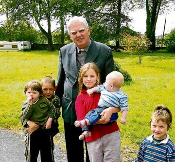 Bishop Willie Walsh and Travellers